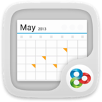 GO桌面-日历组件