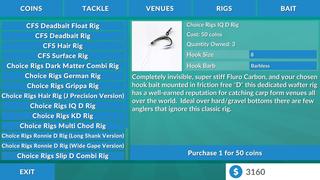 鲤鱼钓鱼模拟器 - 派克,鲈鱼等