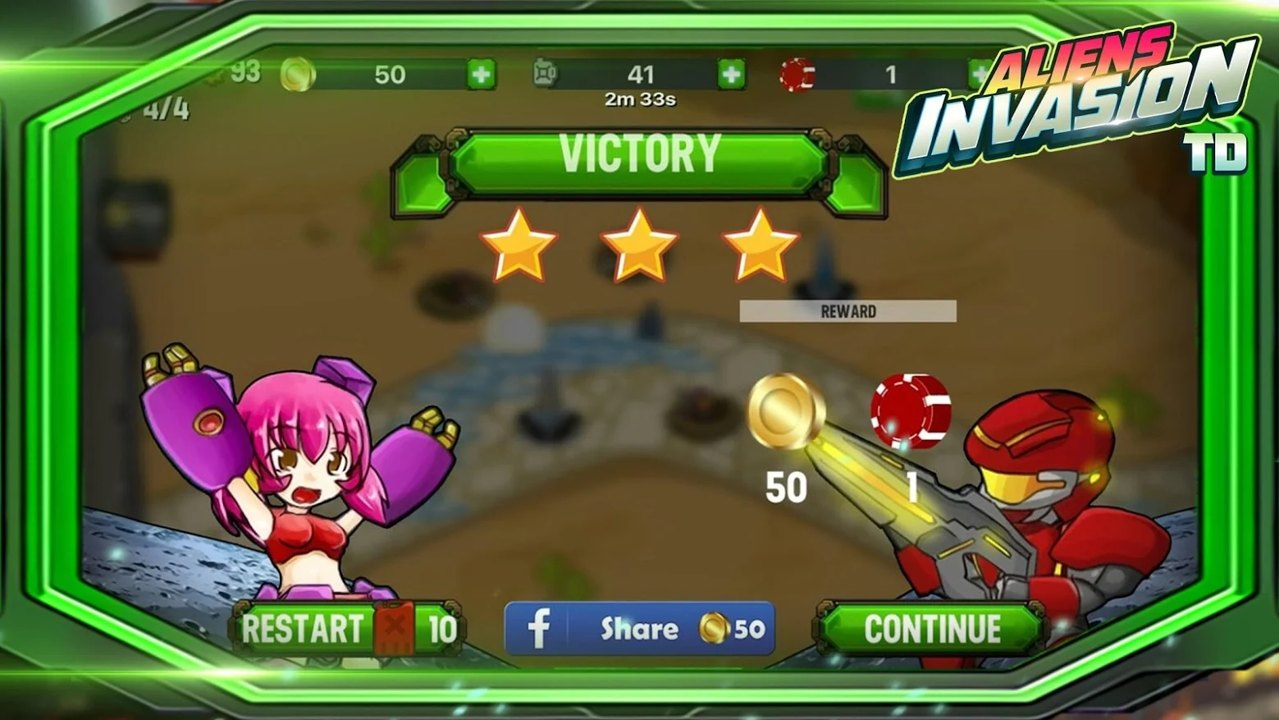 外星人入侵美女游戏_外星人地球入侵TD v1.16 外星人地球入侵TD安卓版下载_百分网