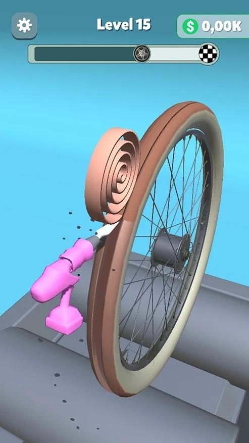 轮胎修复游戏截图