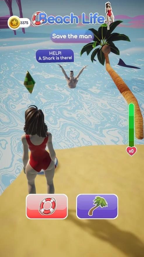 海滩生活3D游戏截图