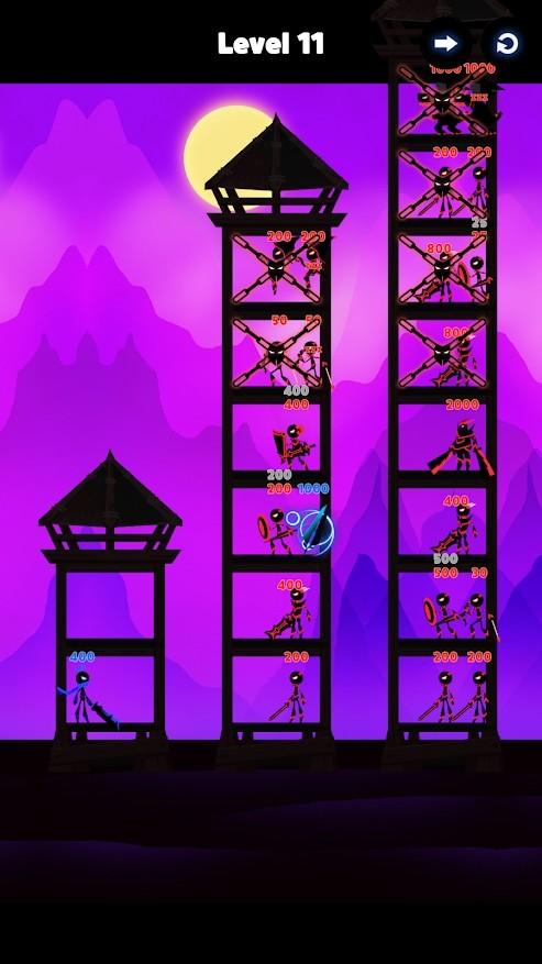 英雄城堡战争:塔攻击 Mod游戏截图