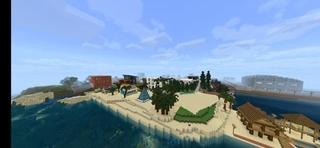 我的世界(利比里亚市地图和超越地下模组) Mod