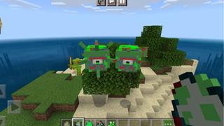 我的世界(海洋变异怪模组和岛屿住宅地图) Mod
