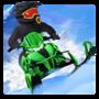 北极猫雪地摩托赛车