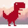 跳跃的恐龙