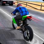 摩托车交通赛
