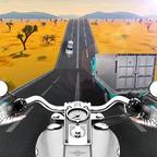 公路摩托车手