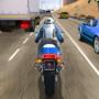街头摩托骑手