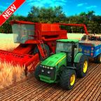 小麦农业拖拉机