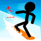 火柴人滑雪修改版