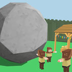 破坏之岩!
