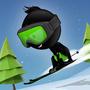 火柴人滑雪