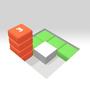叠砖块3D