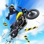 摩托车跳跃