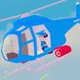 直升机射击!