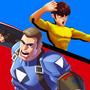超级英雄X队长vs李功夫