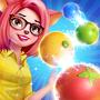 泡泡射击:水果丰收