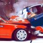 城市汽车驾驶漂移碰撞
